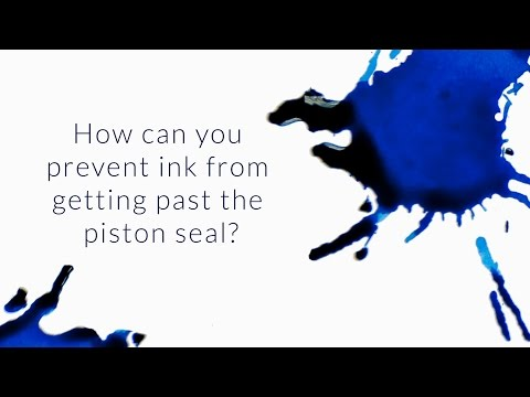 How Can You Prevent Ink From Getting Past The Piston Seal? - Q&A Slices