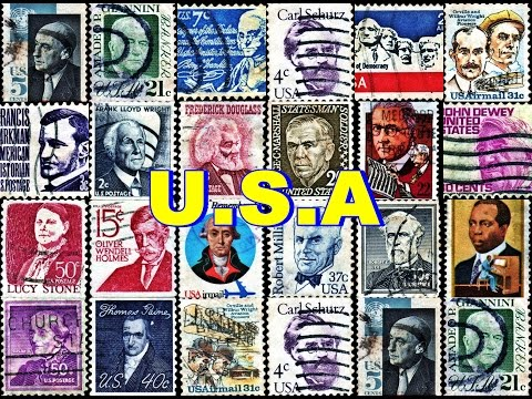 POSTAGE STAMPS OF USA IN GOOGLE EARTH
