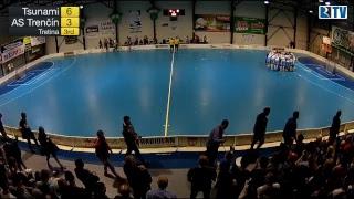 8. 4. 2017 MEX 1. zápas finále play off Tsunami Záhorská Bystrica - Florbalový klub AS Trenčín
