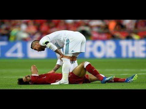 اتصال هاتفي: رسالة من راموس قائد ريال مدريد لمحمد صلاح بعد إصابته  - 11:22-2018 / 5 / 27