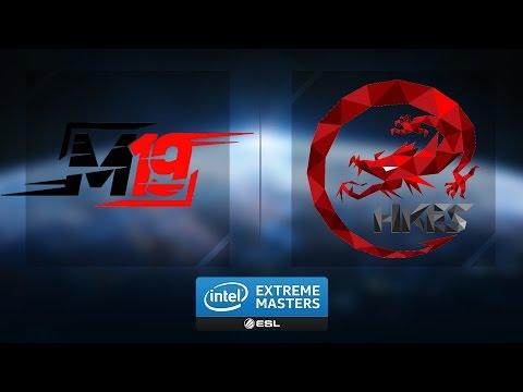 LoL - M19 vs. Hong Kong Esports - Group A Elimination Match Game 1 - IEM Katowice 2017 [1/2]