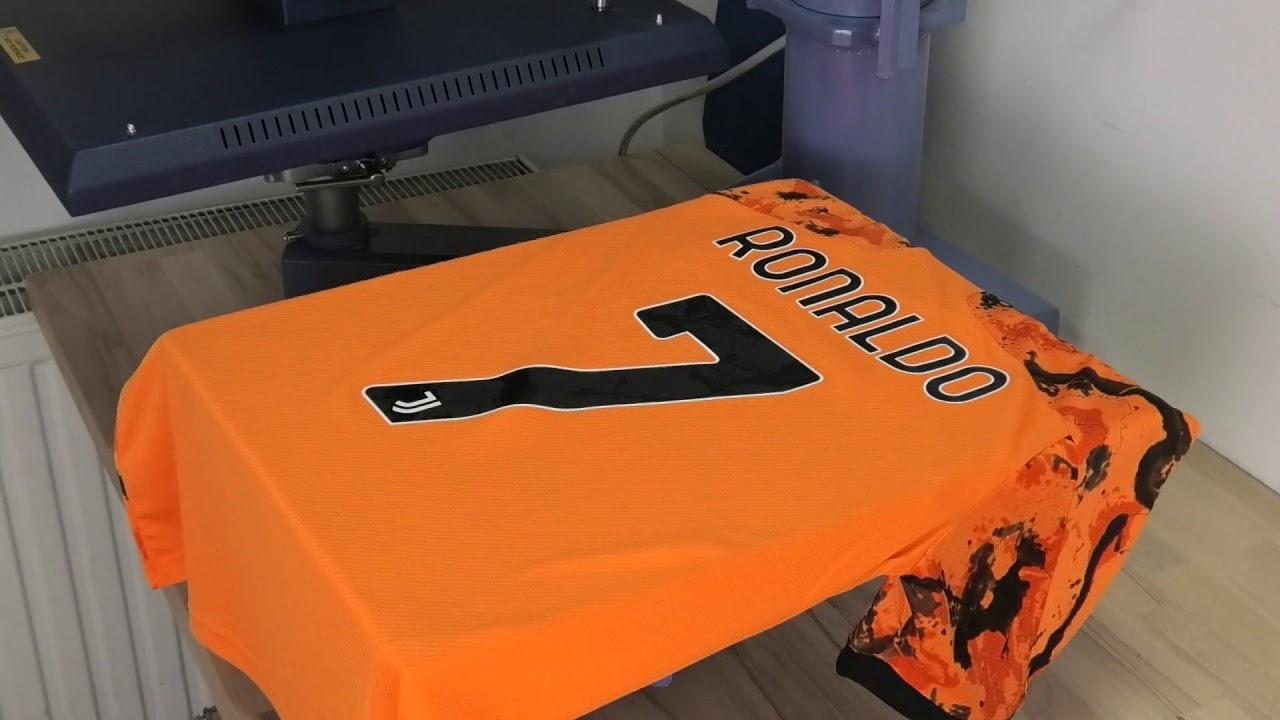 Download Cr7 Juventus Orange Jersey
