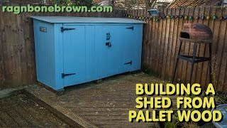 Building A Shed Using Pallet Wood - Part 3 of 3