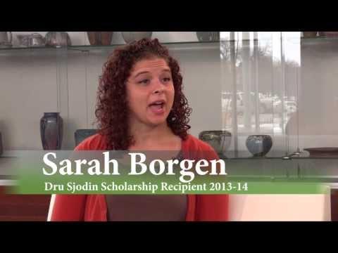 Dru Sjodin Memorial Scholarship Recipient Sarah Borgen