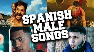 Top 50 Most Popular Spanish Male Songs 2020 (until June)