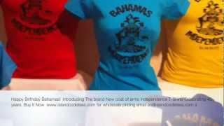 Video Bahamas Coat of Arms Independence T-shirts download MP3, 3GP, MP4, WEBM, AVI, FLV Juli 2018