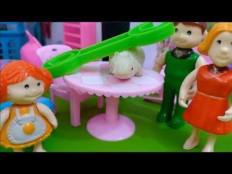 لعبه|| الفار الابيض في بيت دودى | اجمل العاب || للاولاد والبنات