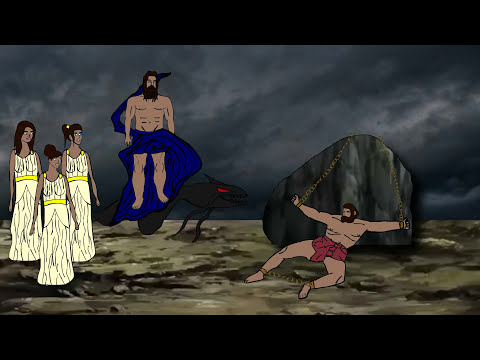 Prometheus Bound The Movie (Greek Mythology Version of Lucifer)replica of play