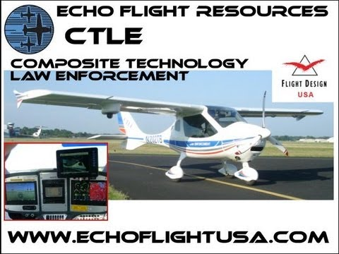 CTLE, Flight Design's CTLE law enforcement light sport aircraft.