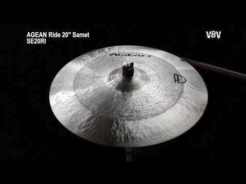 3x Cymbal Set 14-16-20 Samet - B20 Bronze video