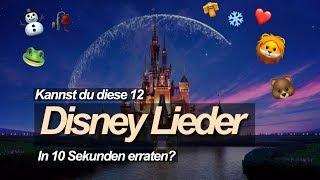 Kannst du diese Disney Lieder in 10 Sekunden erraten?