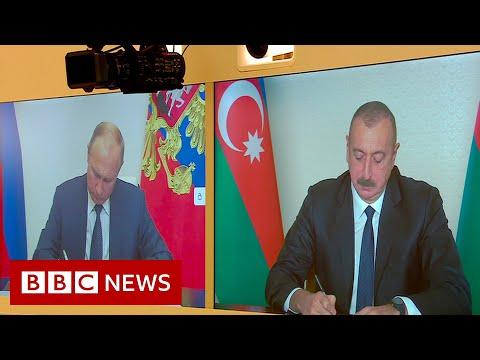 Armenia, Azerbaijan and Russia sign Nagorno-Karabakh peace deal - BBC News