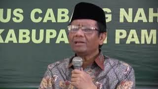 Mahfud MD Bungkam Cebong Yang Kritik Bacaan Quran Langgam Jawa