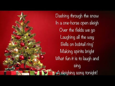 Christmas Popular Jingle Bells Song Instrumental Version With Lyrics