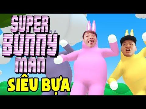 NGƯỜI THỎ BIẾN THÁI BÒ CHANNY VÀ MAZK HÀI HƯỚC!! | SUPER BUNNY MAN