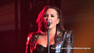 Here We Go Again-Demi Lovato World Tour: Albany, NY 090714