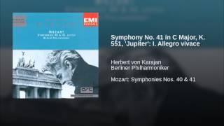 Symphony No. 41 in C Major, K. 551,