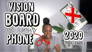 DIGITAL VISION BOARD | MY VISION BOARD 2020