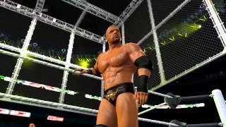 WWE 2K15 PC 60fps The Undertaker VS Triple H - Channel Update