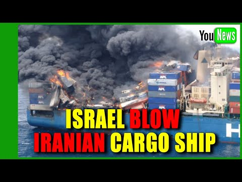 Israel said to believe Iran behind blast on Israeli-owned cargo ship.