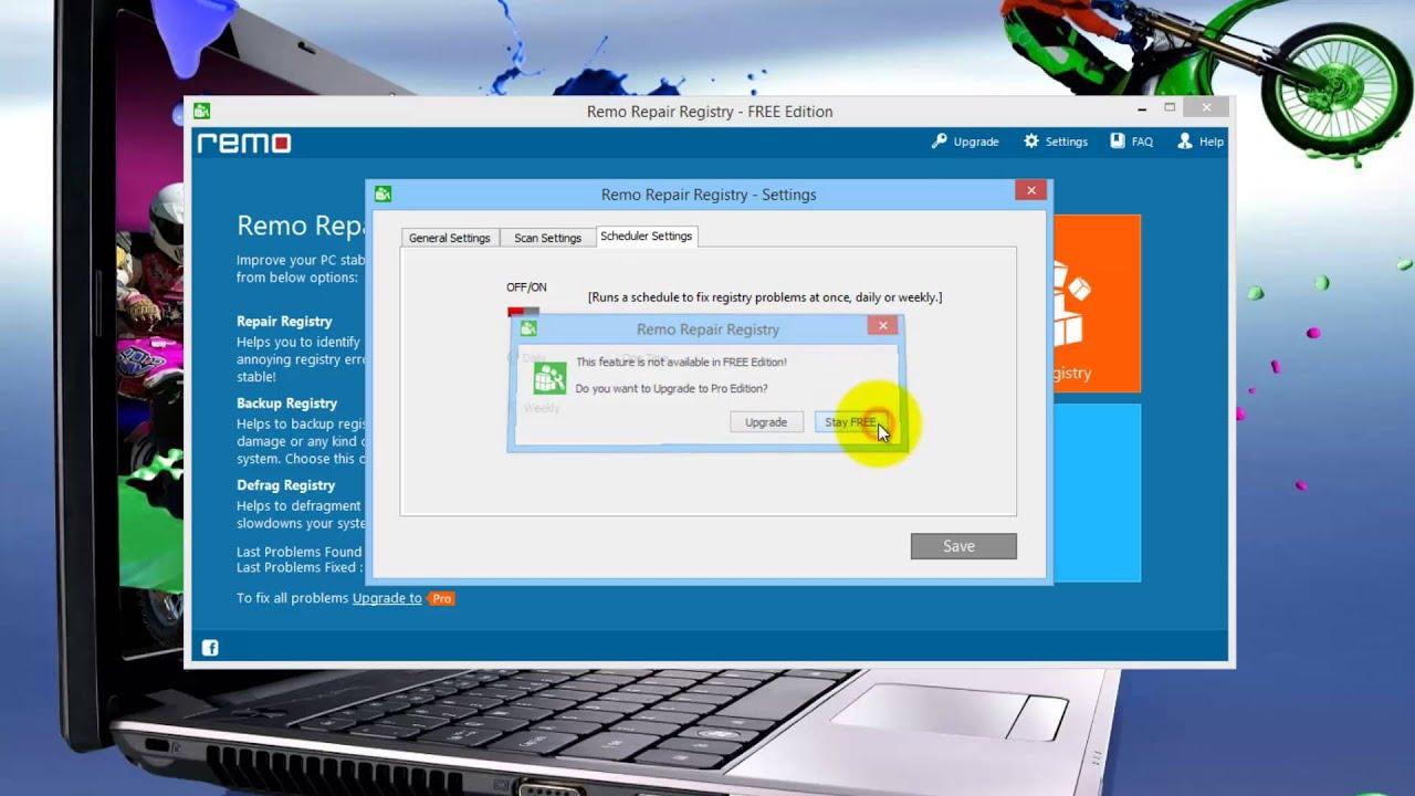 Remo Repair Registry FREE Edition 1 0 0 80