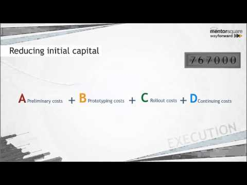 Assessing initial capital requirements