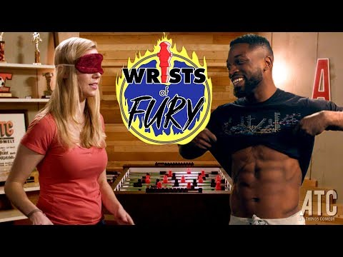 America's Got Talent's Preacher Lawson takes on Pro-Foosball Champion Kelsey Cook: Wrists of Fury