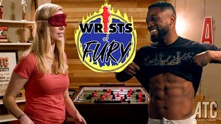 America's Got Talent's Preacher Lawson takes on ProFoosball Champion Kelsey Cook: Wrists of Fury