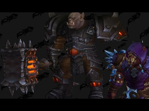 Wow Upright Maghar Orc With Awesome Gear Youtube