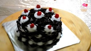 Black Forest Cake  You will Never Buy After Watching it!