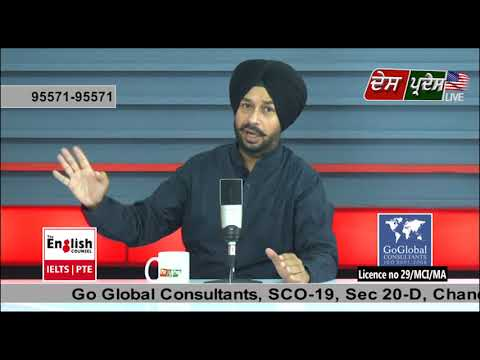 Des Pardes Live With GoGlobal Consultants 5 May 2018