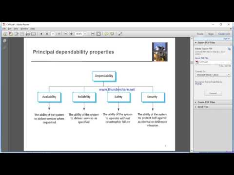 ch11: Dependability and security part1