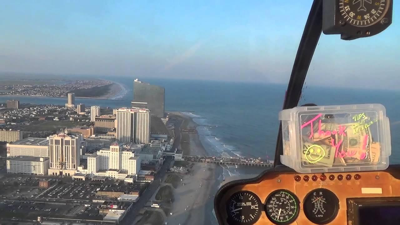 HELICOPTER RIDE  STEEL PIER ATLANTIC CITY NJ  New Jersey Shore Ocean Beach