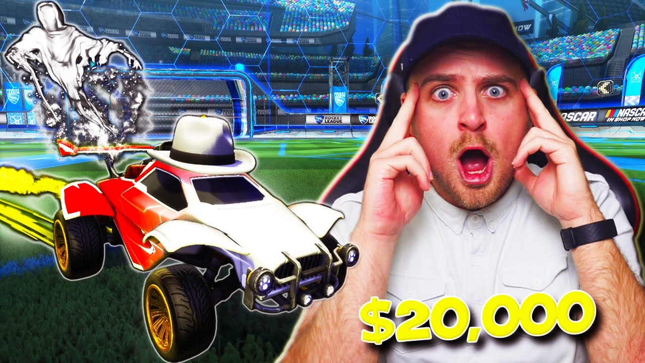 $20 vs $20,000 Car in Rocket League... | THE MOST *EXPENSIVE* PRESET EVER!