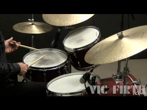 """Drumset Lessons with John X: Jazz Fill Using """"Swung 8th Notes"""""""