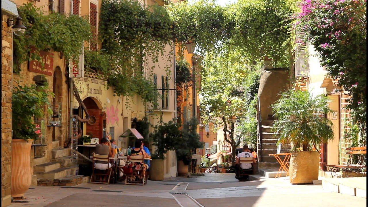 bormes les mimosas rue carnot im sommer www bormeslesmimosas de