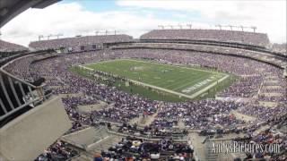NFL Time Lapse: M&T Bank Stadium (Baltimore Ravens - 4 different views)