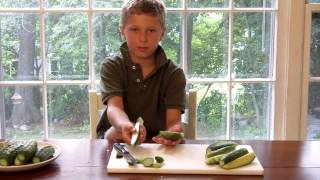 How To Make Dill Pickles And Cucumber Salad