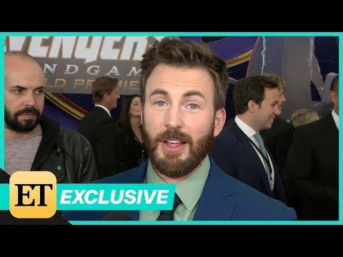 Avengers: Endgame Premiere: Chris Evans FULL INTERVIEW (Exclusive)