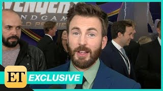 Avengers: Endgame Premiere: Chris Evans FULL INTERVIEW (Exclusive)