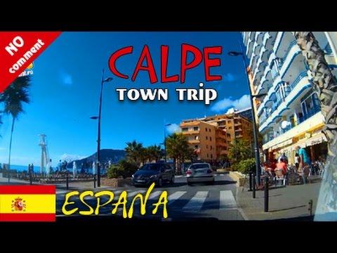 Calpe (Spain). Town trip