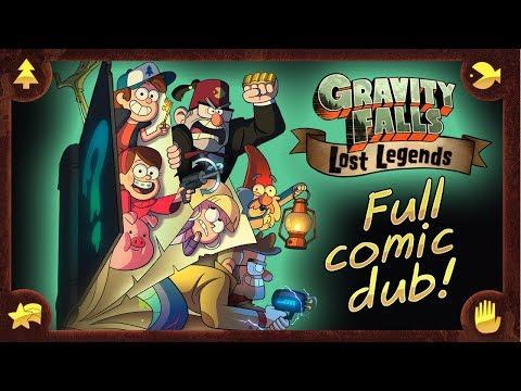 FULL COMIC - Gravity Falls Season 3 (sorta!) - Gravity Falls Comic Dub (Gravity Falls: Lost Legends)