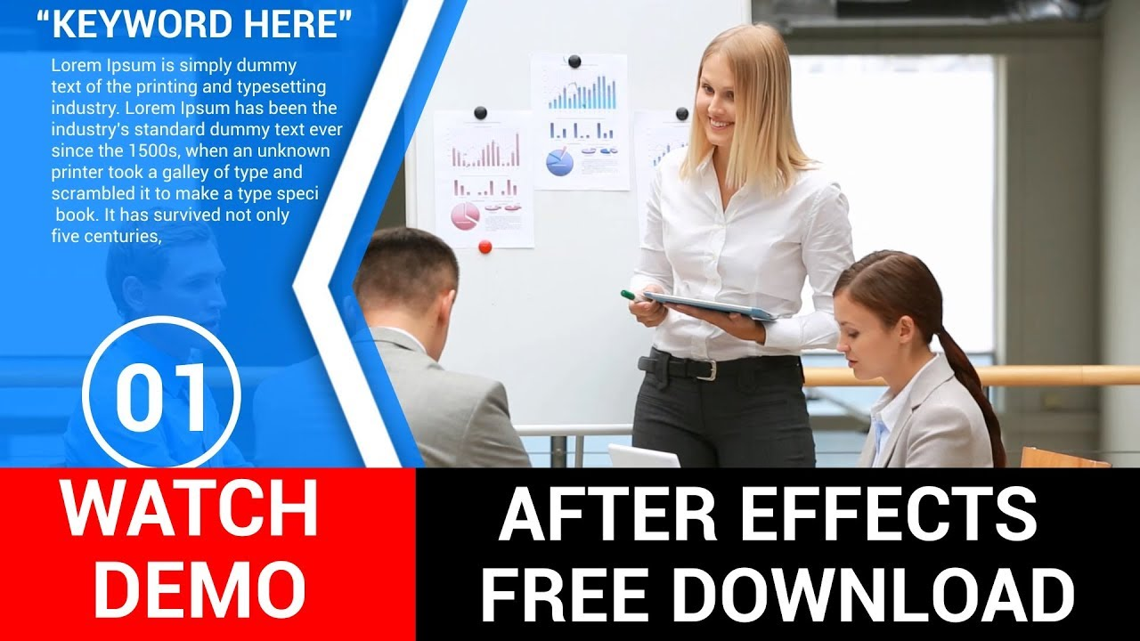 Corporate after effects template free company profile for Company profile after effects templates free download