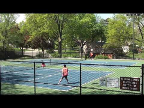 Sunflower League Tennis vs. #4 Seed SMN part 1