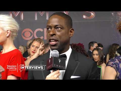 "Emmy winner Sterling K. Brown on why ""This Is Us"" resonates with fans - 2017 Primetime Emmys"
