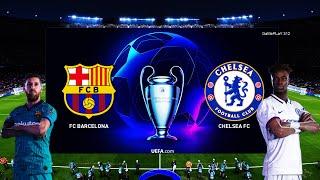 Download PES 2020 - FC Barcelona vs Chelsea FC - UEFA Champions League - Gameplay PC - L.Messi vs T.Abraham