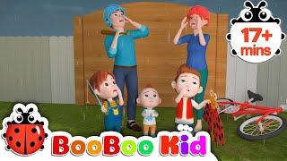 Canción  lluvia lluvia vete + Más canciones infantiles y canciones infantiles | Boo Boo Kid