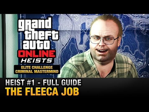 GTA Online Heist #1 - The Fleeca Job (Elite Challenge & Crim
