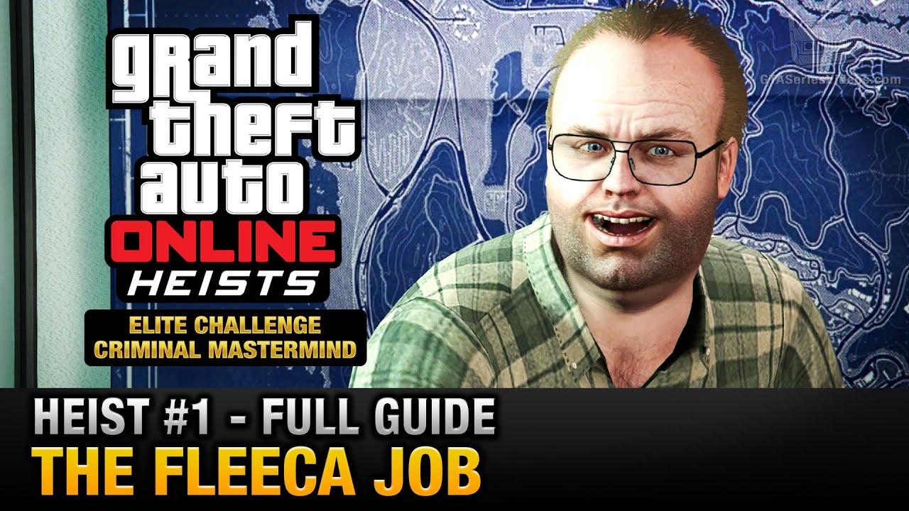gta 5 online first heist elite challenge