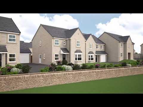 Miller Homes - Corner Fields, Skipton - CGI Development Video